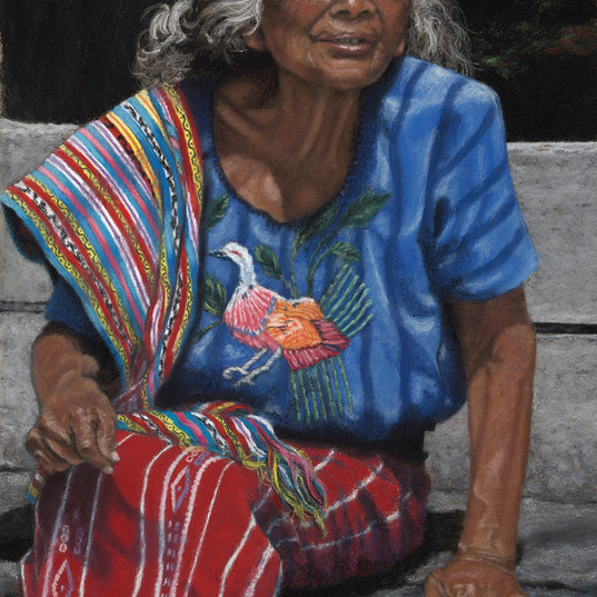 """Mayan Grandmother"""