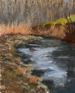 """Cold Winter Morning on Ponca Creek"""