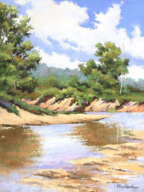 """Sunday at Spavinaw Creek"""