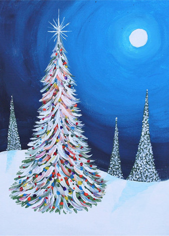 Serene Christmas Night