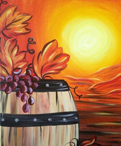 Autumn Barrel