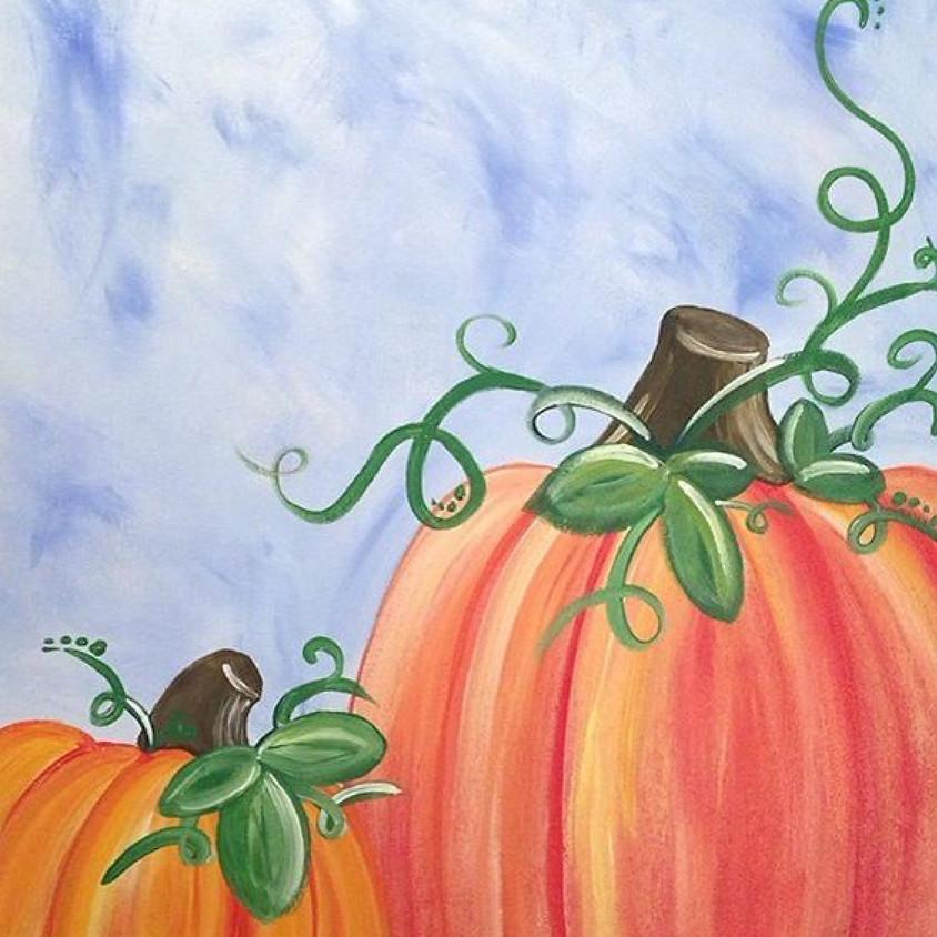 It's a Pumpkin Paint Party