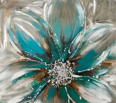 Teal Blossom