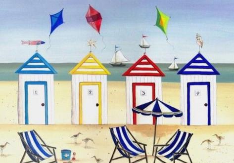 Beach Huts 1