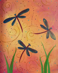 Whimsical Dragonflies