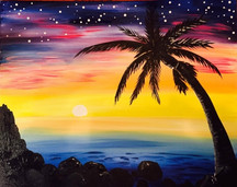 Starry Starry Beach