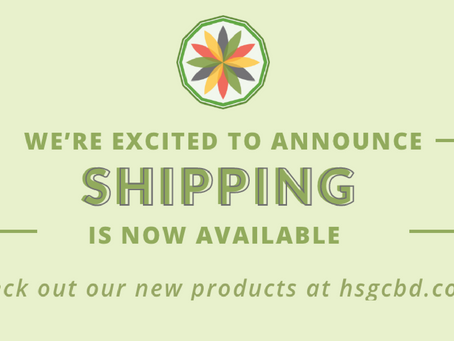 Get HSG CBD Products Shipped to Your Door