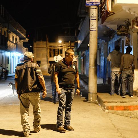 Night Patrol, Joyabaj, Guatemala
