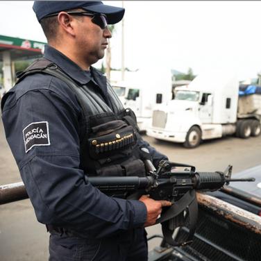 Fuerzas Rurales, Michoacán (2018)