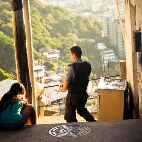 Turano favela, Rio de Janeiro (2014)