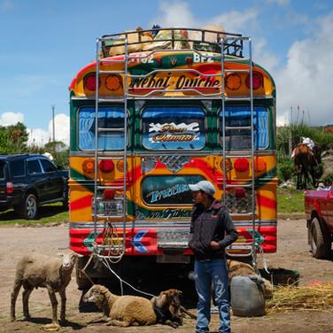 San Nicolas fair, Huehuetenango