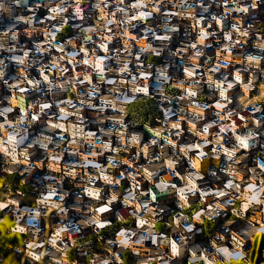 Rocinha favela from above, Rio de Janeiro (2011)