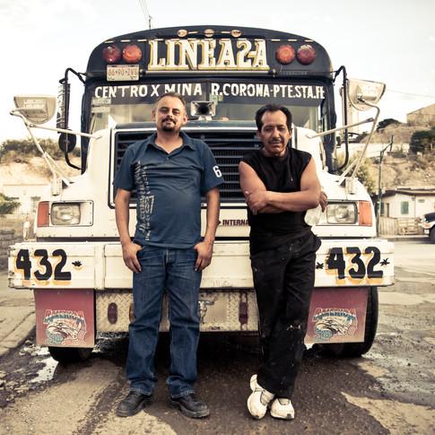 Bus Stops, Ciudad Juarez (2014)