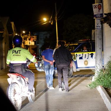 Motorcycle thief caught with help from the Guardianes del Vecindario, Joyabaj