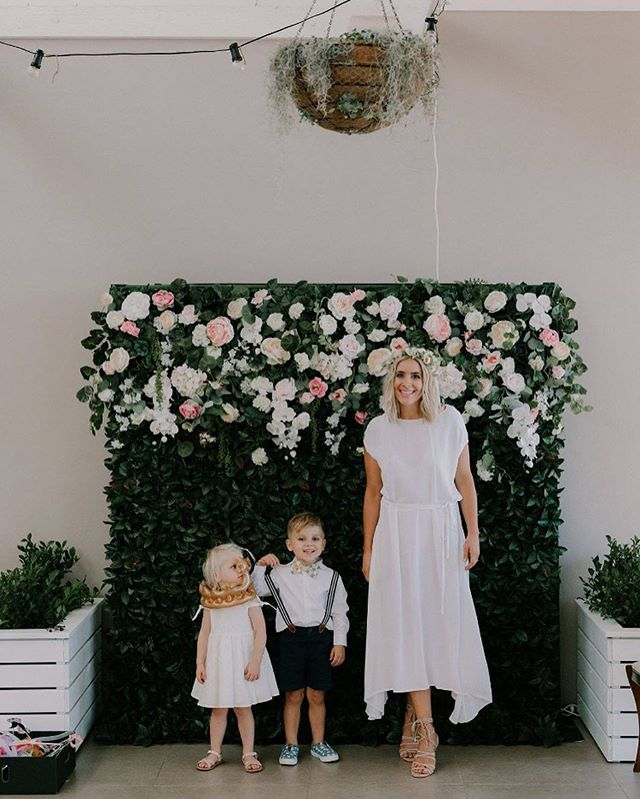 Sydney Flower Wall Hire