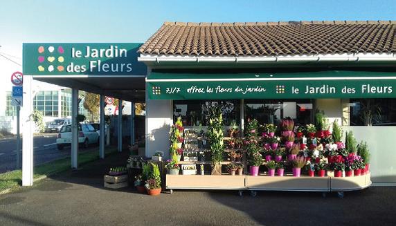 E JARDIN DES FLEURS FLEURIT À OLONNE-SUR-MER