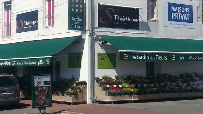 Le Jardin des Fleurs ouvre un 3ème magasin à la Rochelle