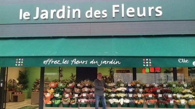 Un nouveau Jardin des Fleurs fleurit à Condé sur l'Escaut