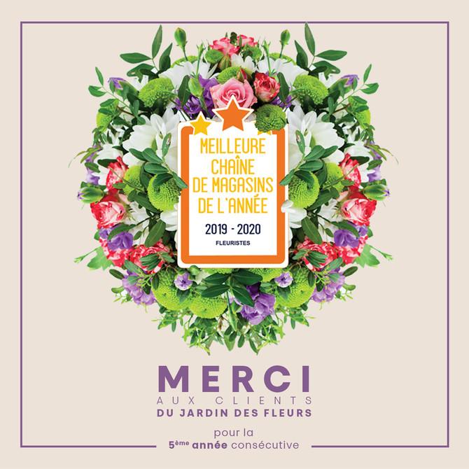Mercredi 9 octobre 2019, après 4 mois de compétition et de récolte des votes consommateurs, Le Jardi