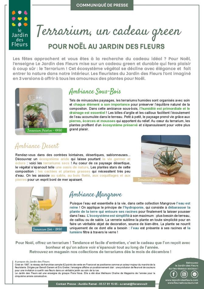 Découvrez nos nouvelles collections de terrariums