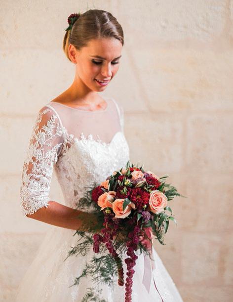 LE JARDIN DES FLEURS fleurit les futurs mariés