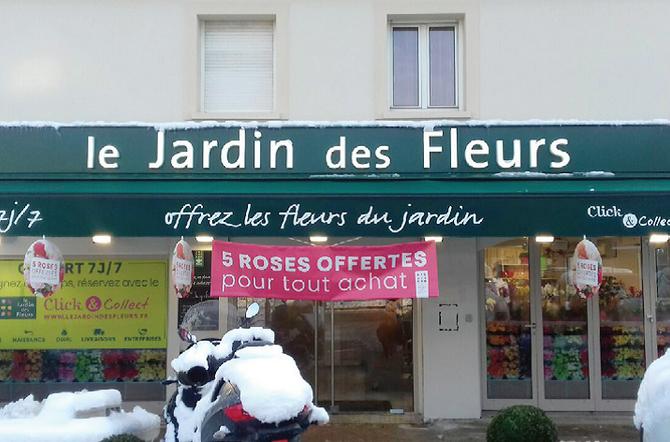 LE JARDIN DES FLEURS FLEURIT à NOISY-LE-GRAND