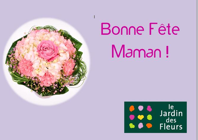 Dimanche 29 mai, toutes les mamans sont à l'honneur