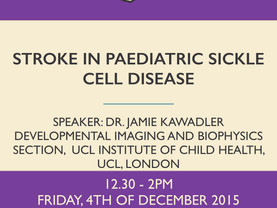 Stroke in paediatric sickle cell disease
