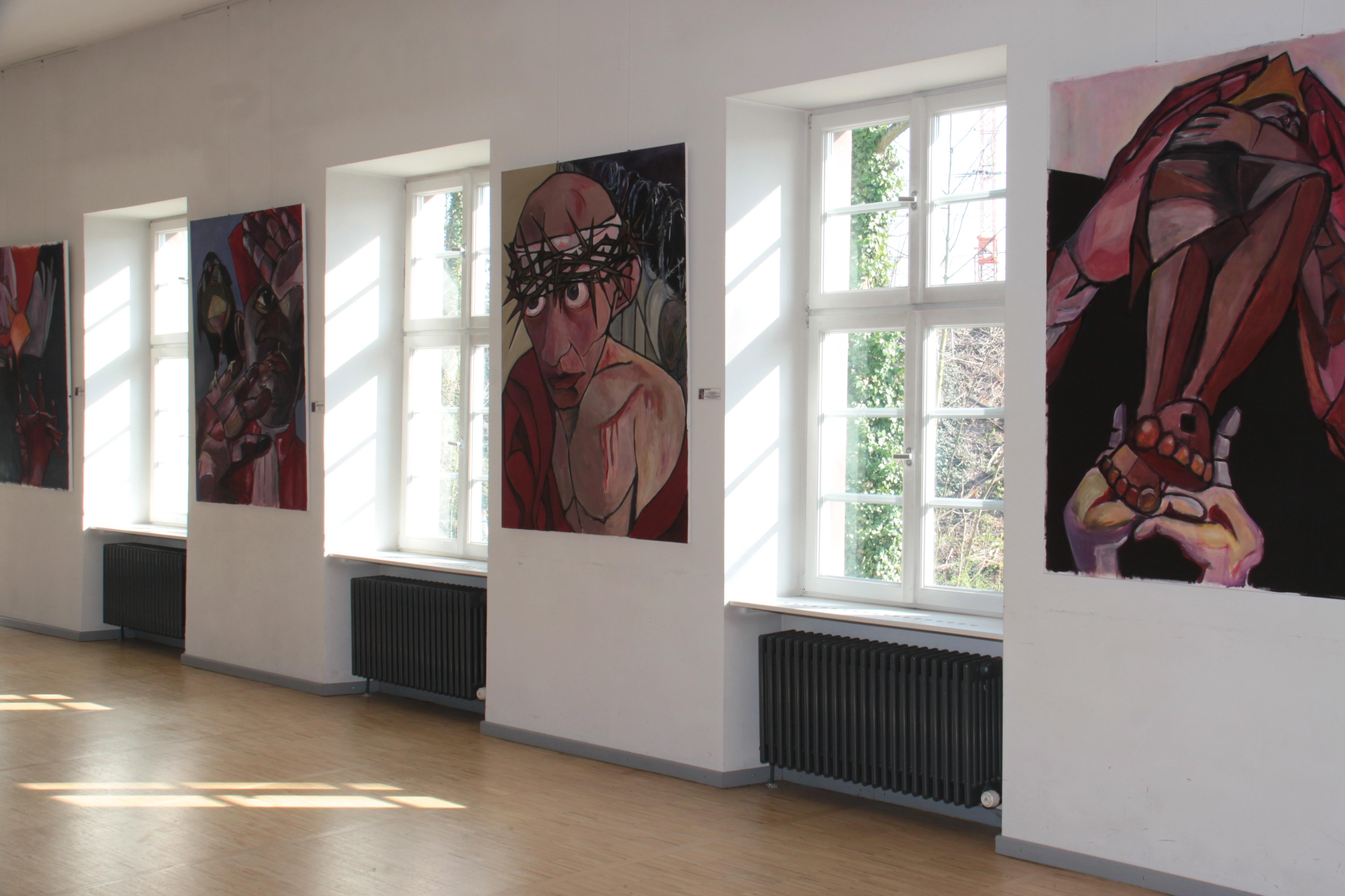 Ausstellung im südlichen Querraum