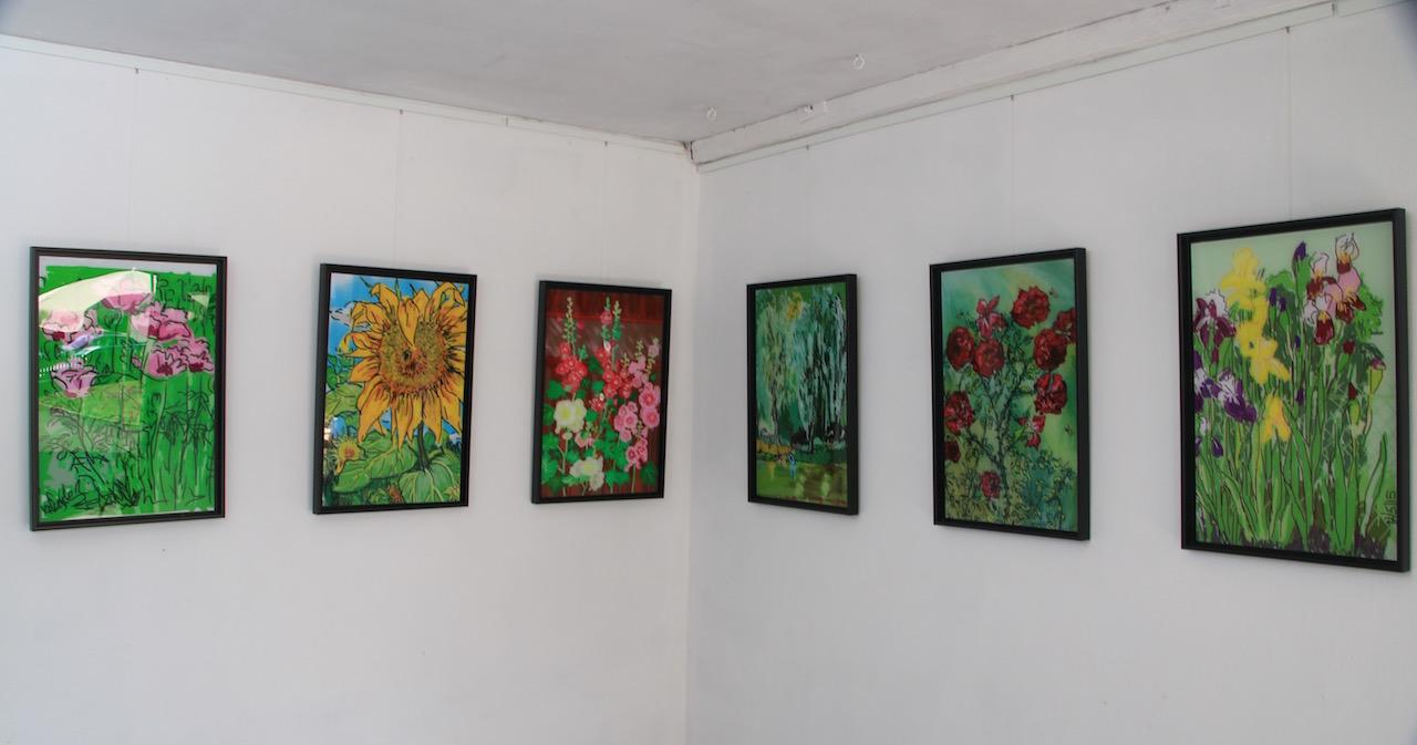 Blick in die Sommerausstellung