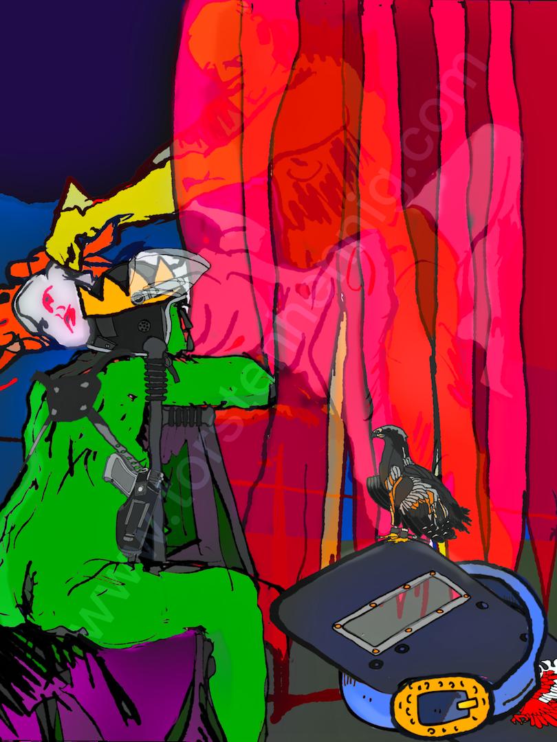 Siegfried macht Brünhild gefügsam