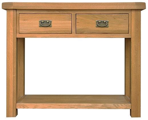 OAK-MCON Medium Console Table