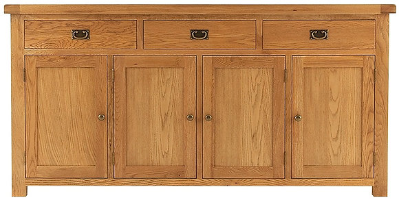 OAK-4DS 4 Door Sideboard