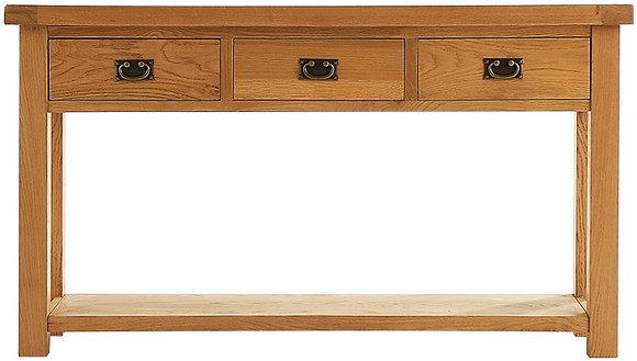 OAK-LCON Large Console Table