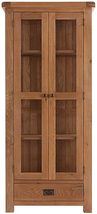 OAK-DIS Display Cabinet wit Glazed Doors