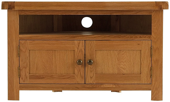 OAK-CTV Corner TV Unit