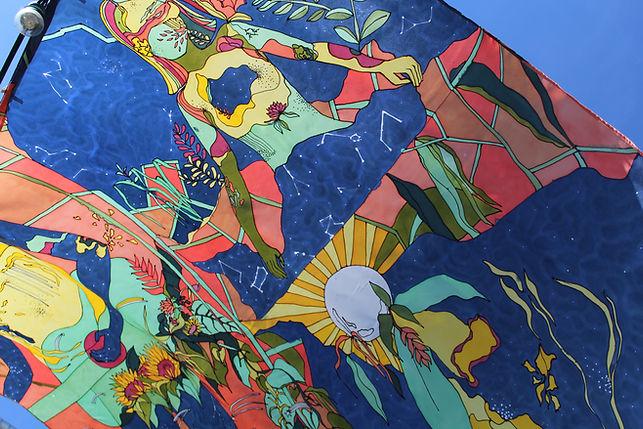 Artist - painter - silk-paint - peinture sur soie
