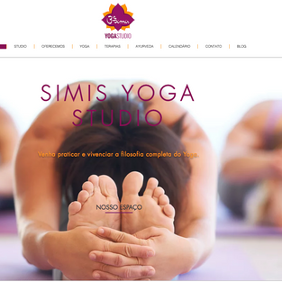 site Simis Yoga Studio (corpo)