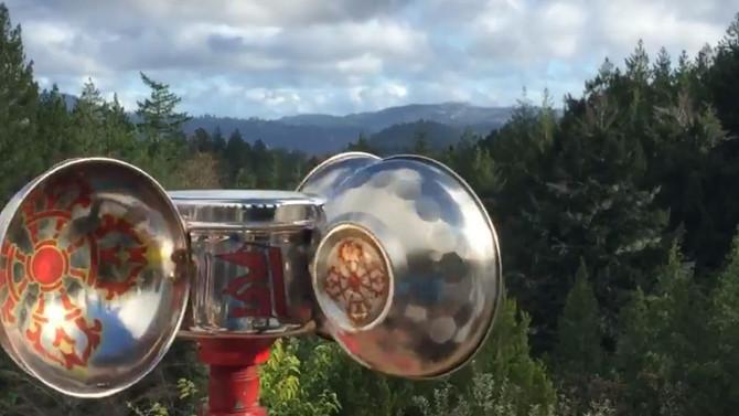 Rodas de Preces ao Vento - uma brisa de amor e energias curativas para o mundo.
