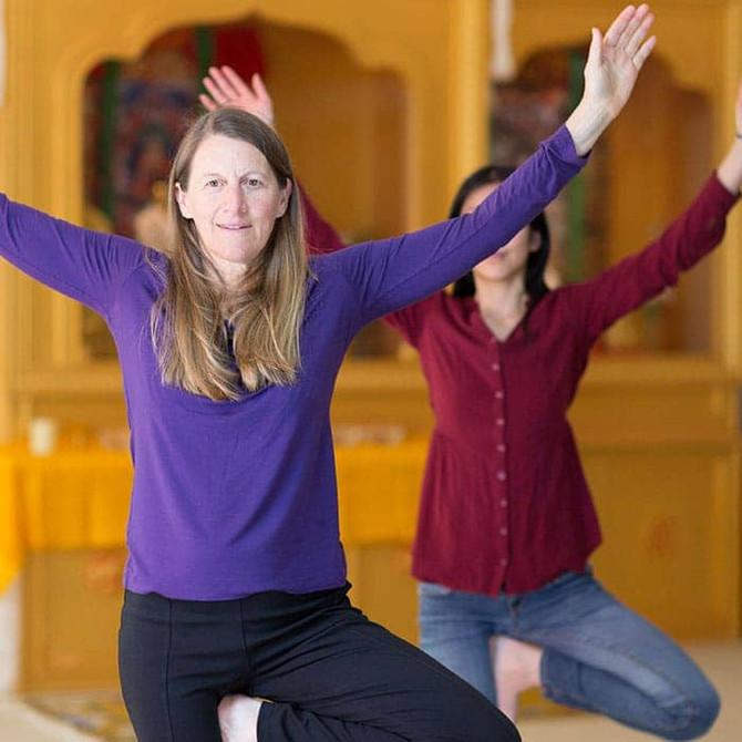 Workshop de Kum Nye Yoga Tibetano ABRINDO OS SENTIDOS