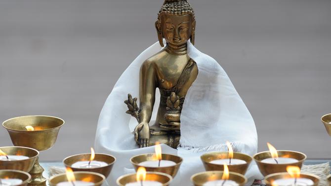 Cerimônia do Buddha da Cura domingo, 26/11, 18h