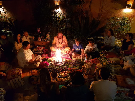 Ritual do Fogo para queima de Karmas