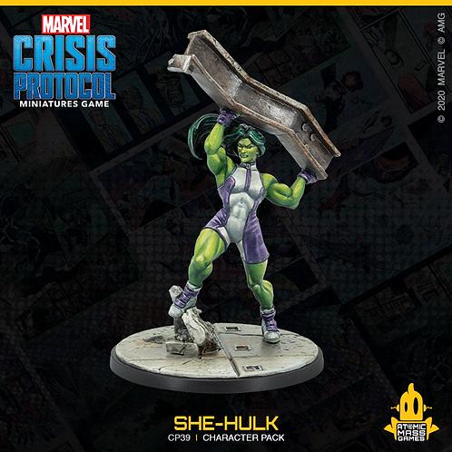 Marvel Crisis Protocol Miniatures Game She Hulk