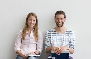 Lächelnde Coaching Kunden Sonja Schlüter
