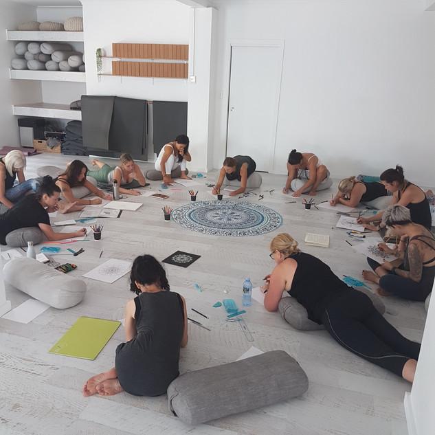 mindful art workshop sydney
