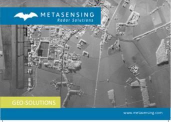 Brochure for Geo Solution MetaSensing