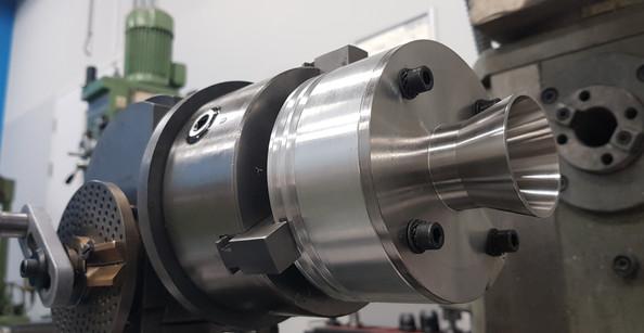 DART XL Nozzle on mill
