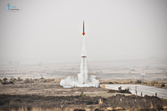 T-Minus CanSat Rocket Flyout at military site 't Harde