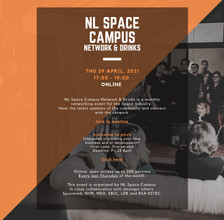 NL Space Campus Network & Drinks - 29-04