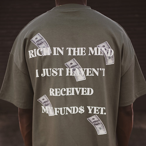 Rich In The Mind Tee